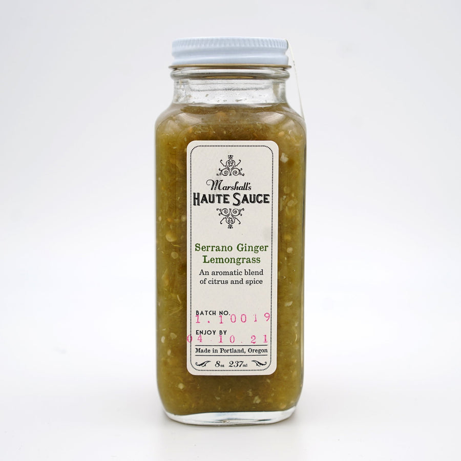 Serrano Ginger Lemongrass-Marshall's Haute Sauce-MONIKER GENERAL
