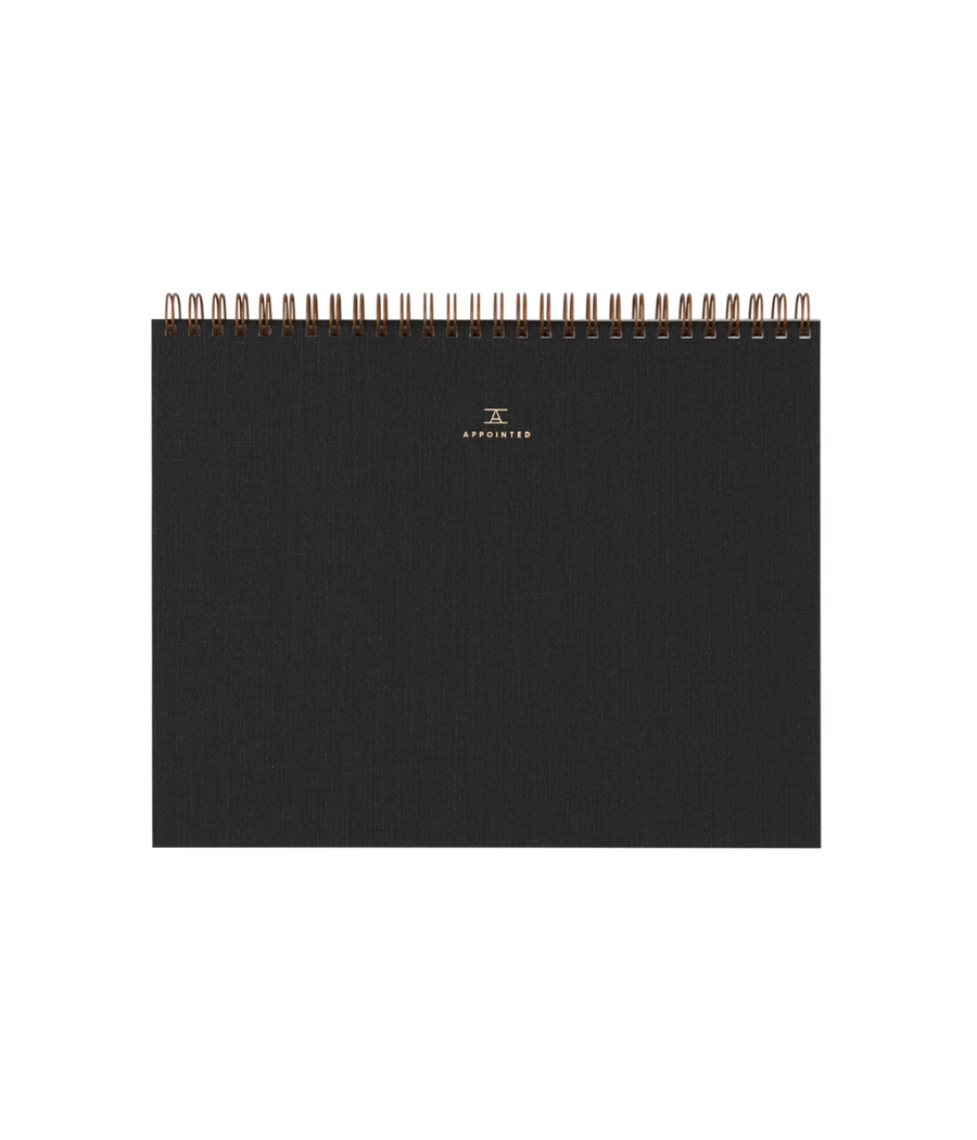 Sketch Pad Charcoal Gray-Appointed-MONIKER GENERAL