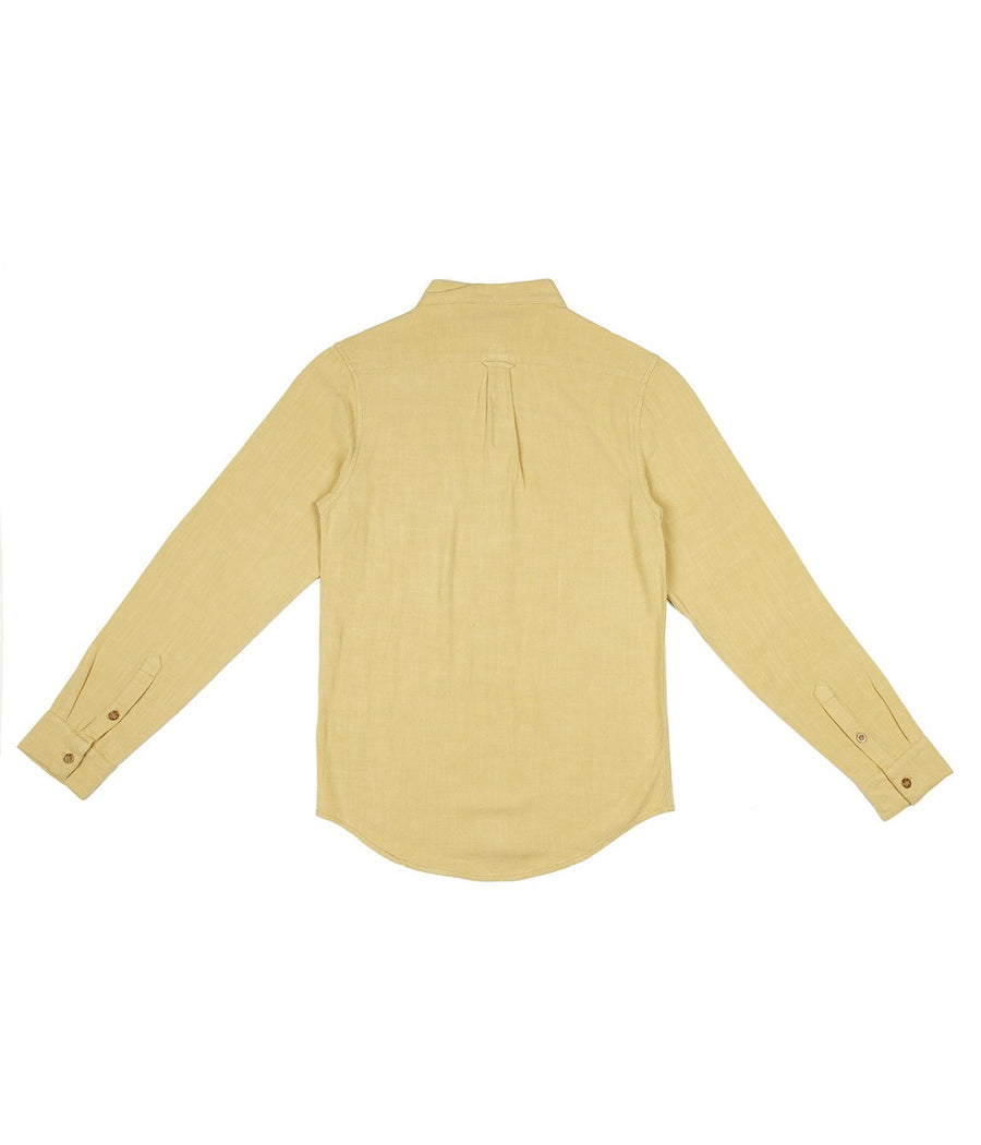 Sunday LS Shirt in Gold-Rhythm.-MONIKER GENERAL