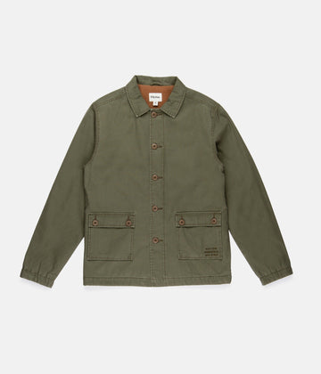 Surplus Coat - Olive-Rhythm.-MONIKER GENERAL