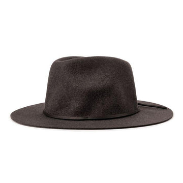 Wesley Fedora - Black-Brixton-MONIKER GENERAL