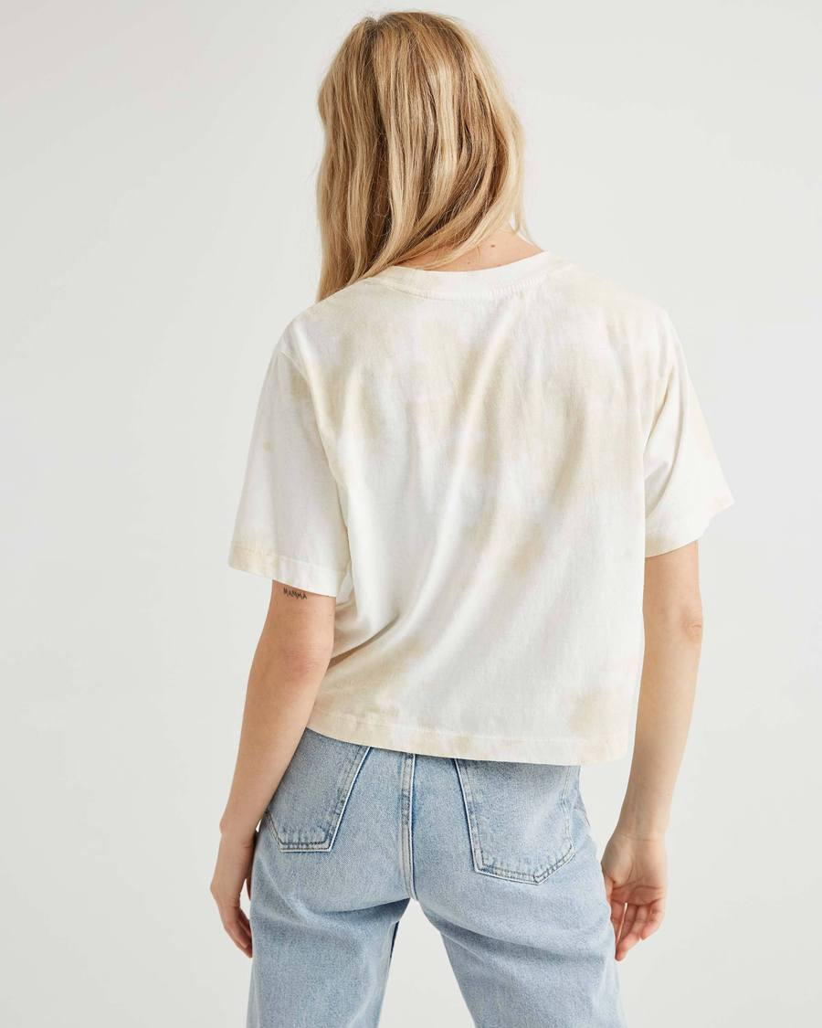 Women's Relaxed Crop - Washed Out-Richer Poorer-MONIKER GENERAL