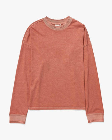 Women's Relaxed Long Sleeve - Summer Cinnamon-Richer Poorer-MONIKER GENERAL