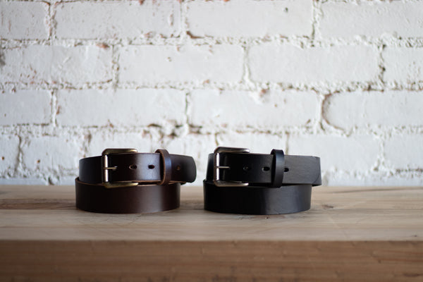 Signature Handmade Leather Belts for Men