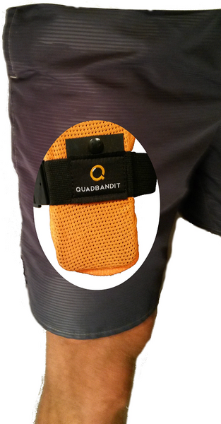 QUADBANDIT - Workout Phone Holder for Running and Exercise - Free Shipping