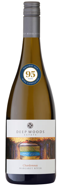 Deep Woods 2017 Estate Chardonnay - 95 points from Halliday Wine Companion 2019