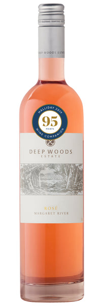 Deep Woods 2017 Estate Rose - 95 points, Halliday Wine Companion 2019