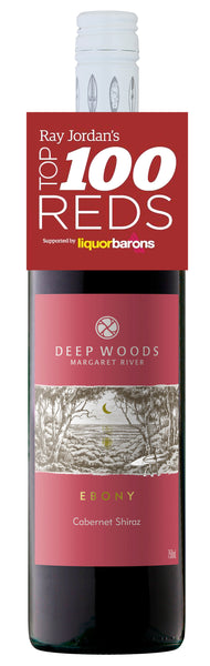 Deep Woods 2017 Ebony Cabernet Shiraz awarded 92 points in Ray Jordan's Top 100 Reds of 2019
