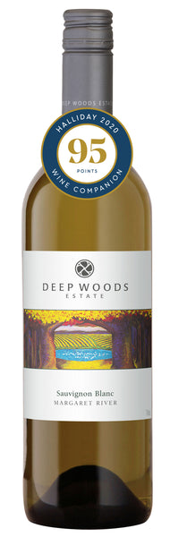 Deep Woods 2018 Estate Sauvignon Blanc awarded 95 points in the Halliday Wine Companion 2020