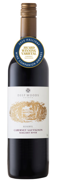 Deep Woods 2016 Reserve Cabernet Sauvignon awarded Best Cabernet in the Halliday Wine Companion 2020