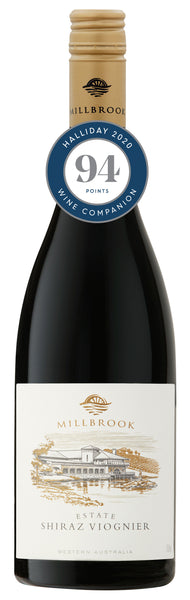 Millbrook Winery 2016 Estate Shiraz Viognier awarded 94 points in Halliday Wine Companion 2020