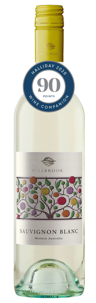 Millbrook Winery 2018 Regional Sauvignon Blanc awarded 90 points in Halliday Wine Companion 2020