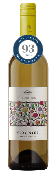 Millbrook Winery 2018 Regional Viognier awarded 93 points in Halliday Wine Companion 2020