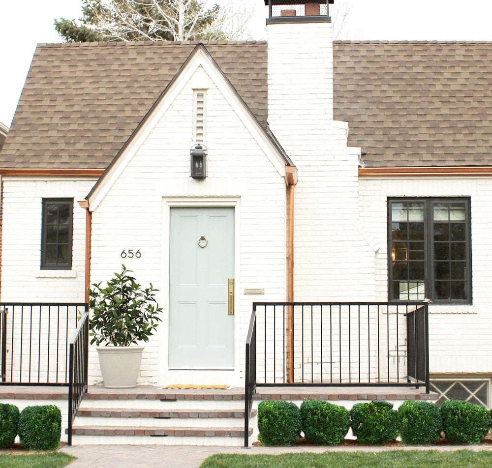 The Best Exterior White Paint Colors: The Best White Modern Farmhouse Exterior Paint Colors