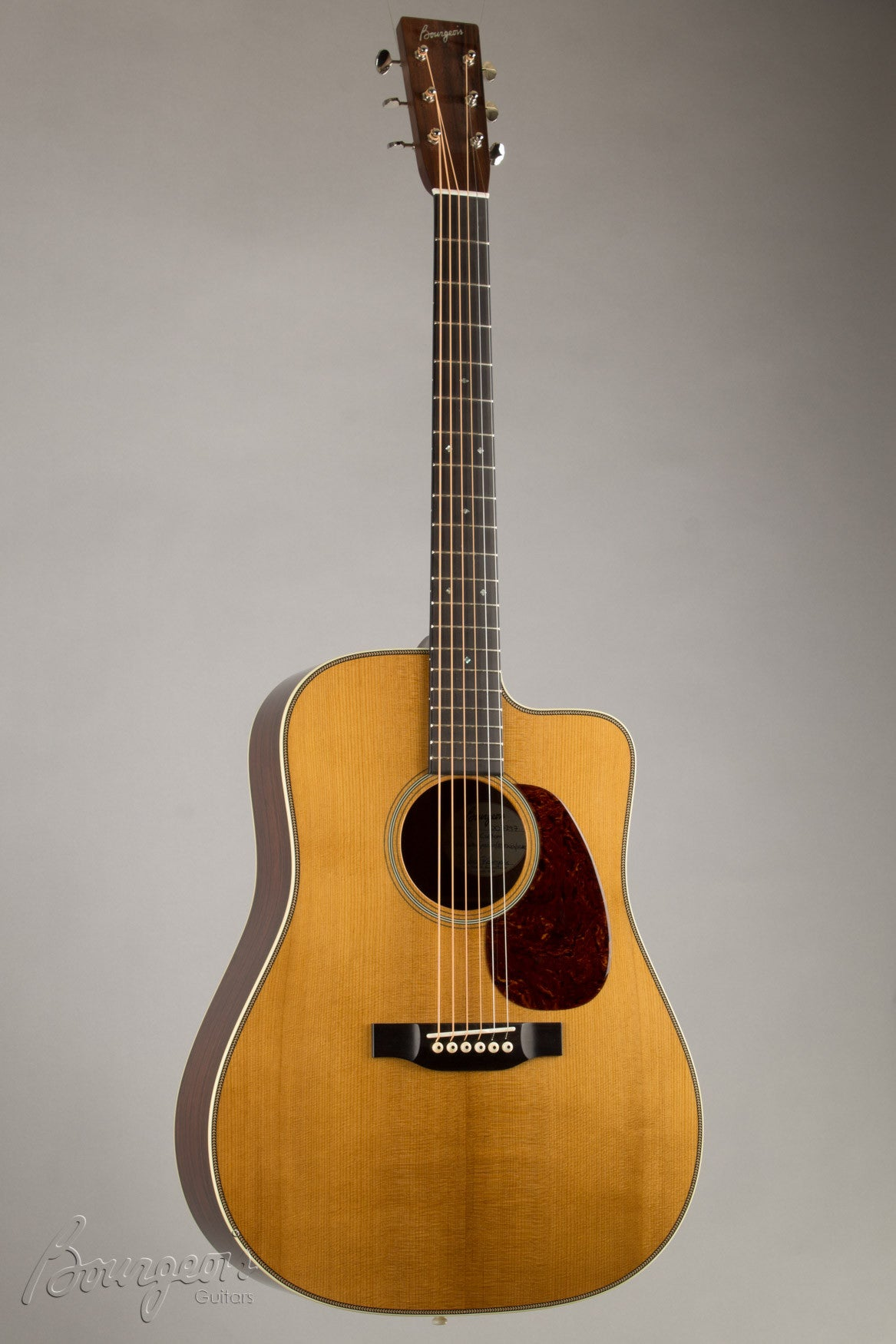 Bourgeois Madagascar RW Vintage Dreadnought with Cutaway