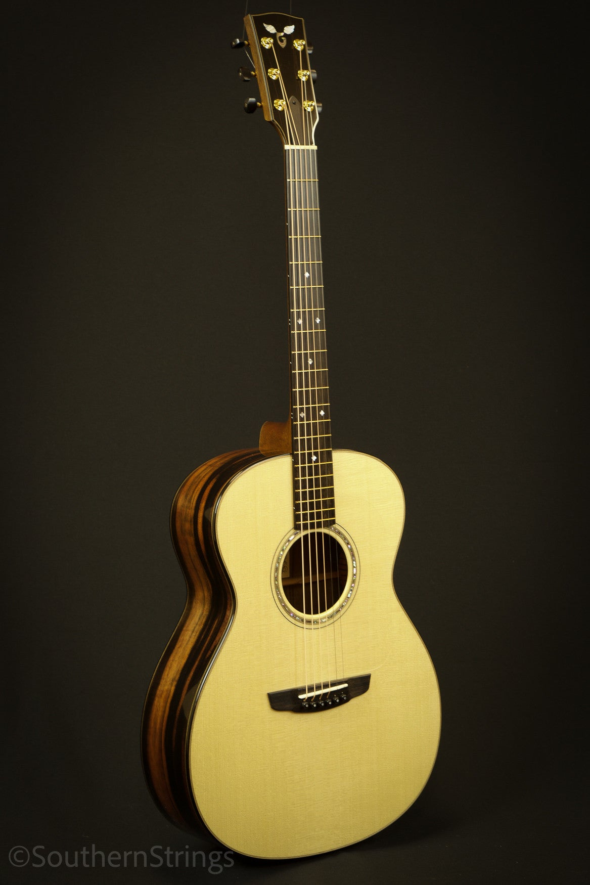 Goodall Macassar Ebony Grand Concert