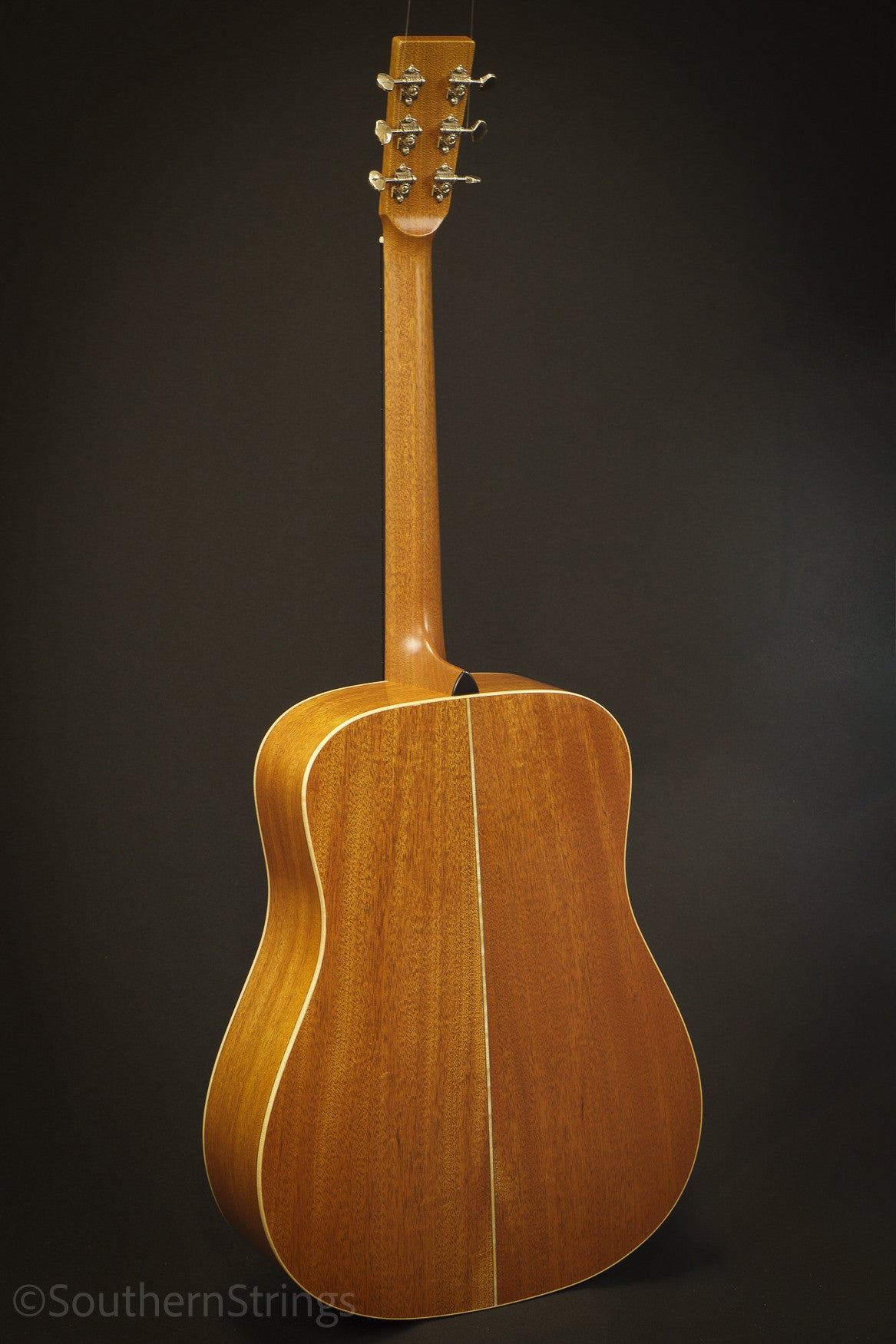 Boucher Mahogany Bluegrass Goose Dreadnought with Gold Touch