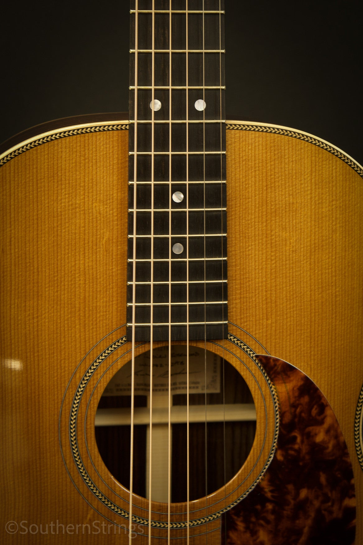 Boucher Indian Rosewood Studio Goose 000-12 with Gold Touch