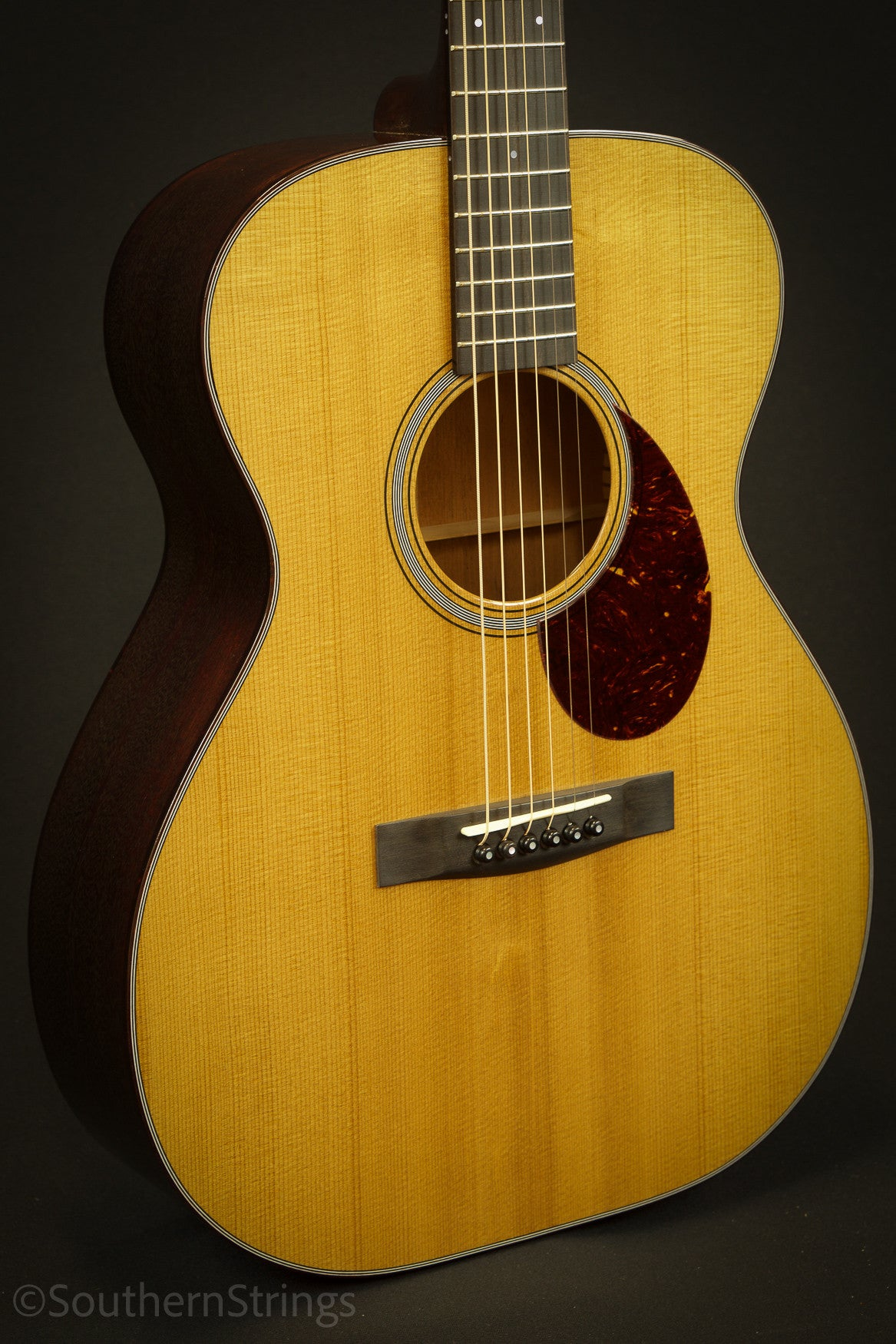 Huss & Dalton Custom Mahogany TOM-M with Thermo-Cured Sitka