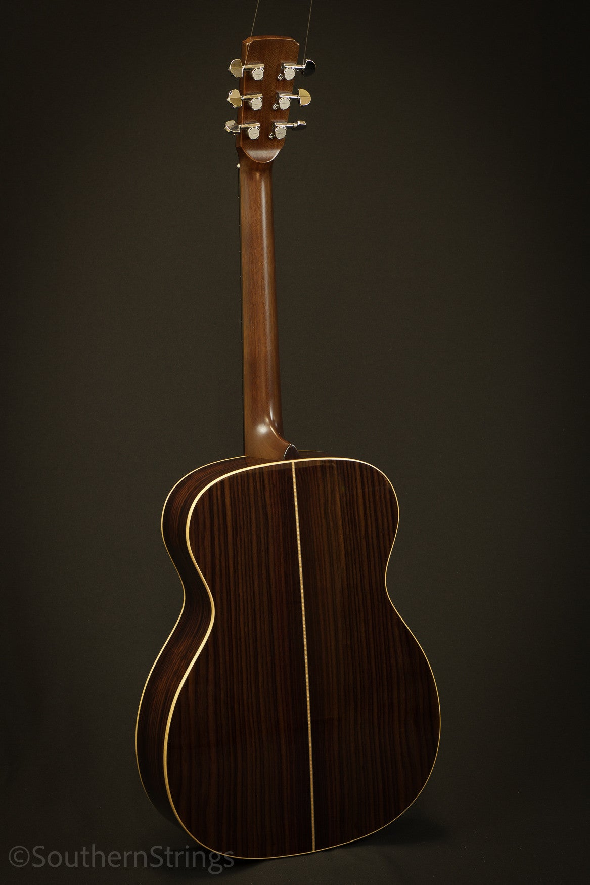 Boucher Indian Rosewood Studio Goose OM Hybrid