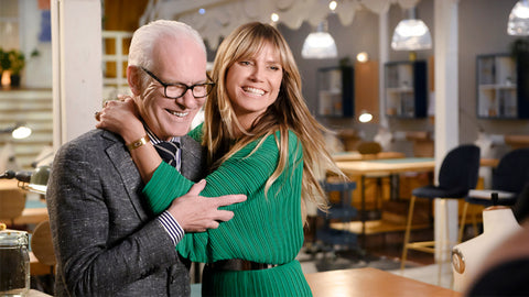 Heidi Klum Tim gunn making the cut