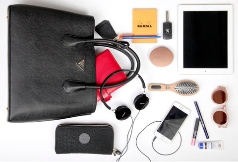 WHAT WOULD YOU FIND IN MOST WOMEN'S HANDBAGS? – thh – the handbag hanger  Pty Ltd