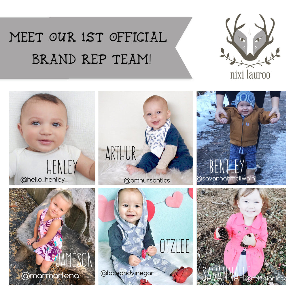 Drumroll please....announcing our new Brand Rep & Enthusiast Teams!!