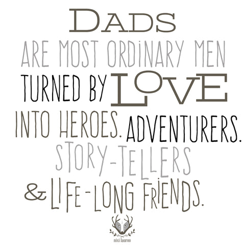 Happy Father's Day to all the Dads