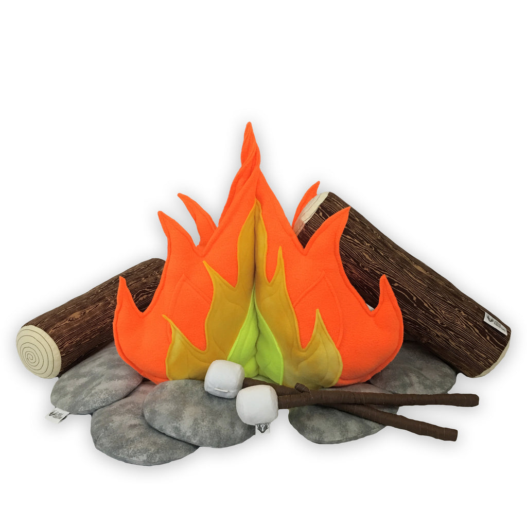 Deluxe Campfire Play Set; Classic Neon