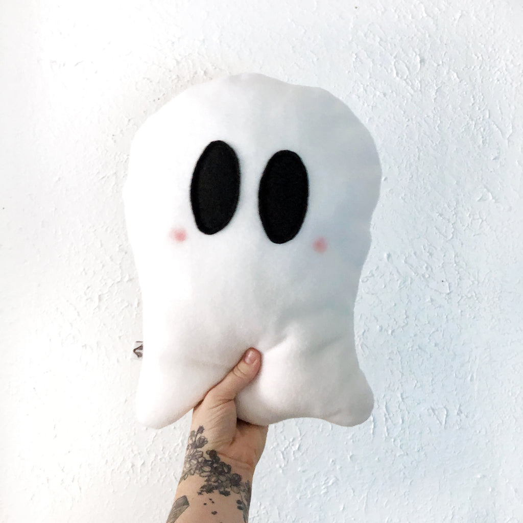 Weighted Ghostie Pillow; Little Boo