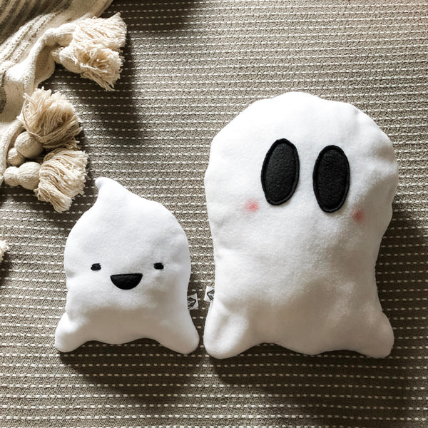 Weighted Ghost Plushie; Itty Bitty Boo