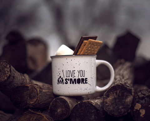 Camping Mug: I love you S'MORE