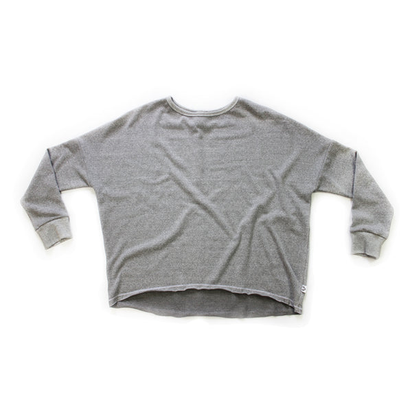 Mama Weekend Pullover; Marl Grey
