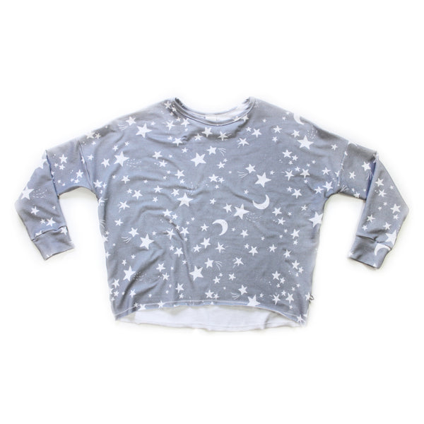 Mama Weekend Pullover; Twinkle Stars
