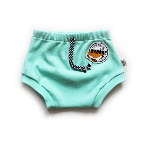 Nixi S'more Patch Shorties; Sweet Mint