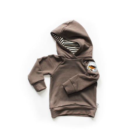 Deluxe Hoodie; I love you S'MORE in Mocha