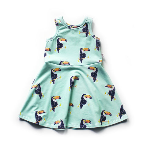 The Molly Play Dress; Toucans