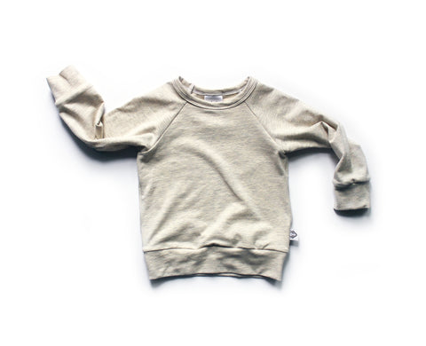 Nixi Pullover; Oatmeal Heather