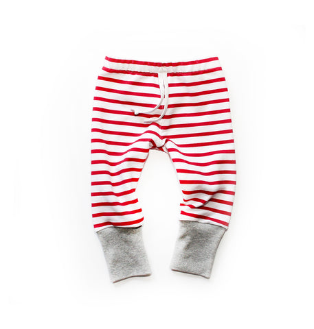 Holiday Lounge Pant: Peppermint Stripe