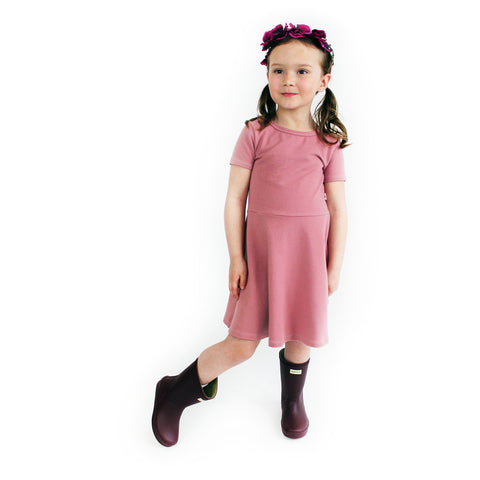 The Margaret Play Dress; Raspberry Sorbet