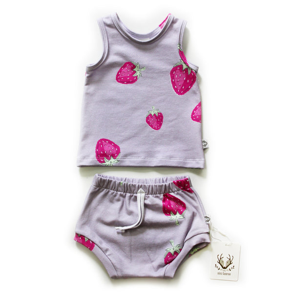 Nixi Classic Tank; Strawberries