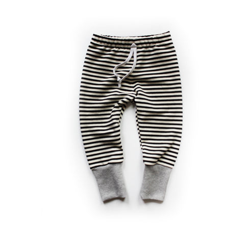 Nixi Lounge Pants: Skinny Stripe