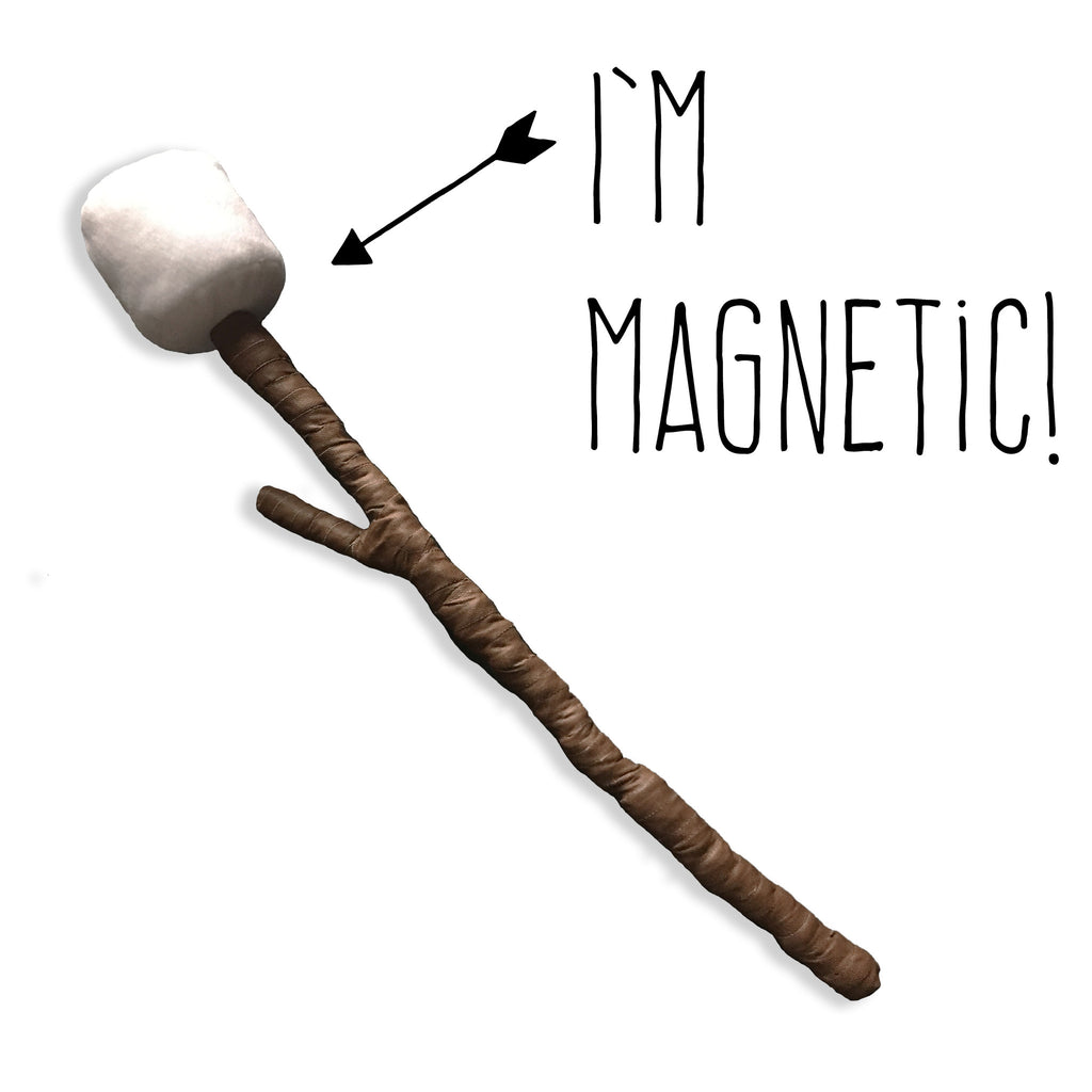 Magnetic Marshmallow + Toasting Twig