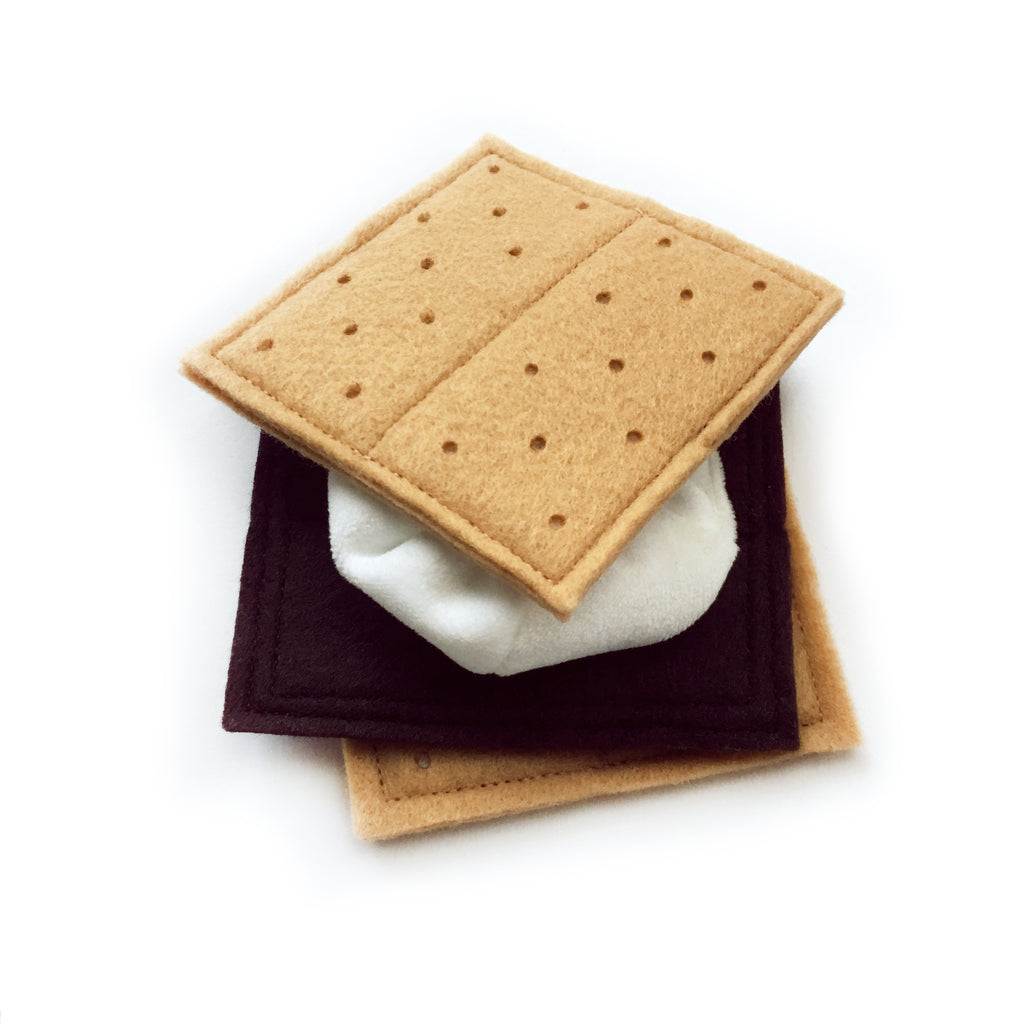 Faux Food: S'more Snack Play Set || MADE TO ORDER