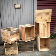 Load image into Gallery viewer, Wooden Crates Reclaimed Wood Vancouver B.C