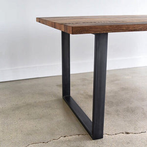 Table Base, Metal Rectangle Wood Shop Vancouver BC