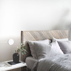Chevron Bed Frame  Reclaimed Wood Shop Vancouver