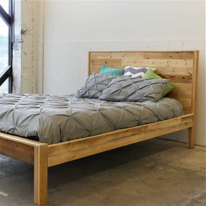 Reclaimed Wood Bed Frame Vancouver B.C.