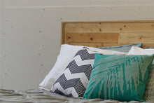 Load image into Gallery viewer, Reclaimed Wood Bed Frame  Headboard Detail Vancouver B.C.