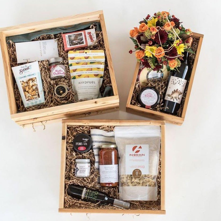 Wholesale Gift Crates Wooden, Made in Vancouver B.C from Reclaimed Wood